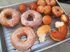 Krispy Kreme Doughnuts Copycat | These were soo wonderful I couldn't stop eating them