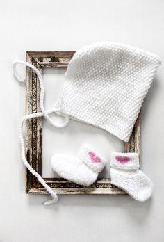 Vauvan neuletossut Novita Ipana   Novita knits