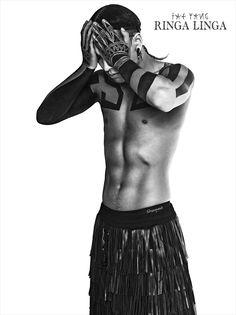 """Taeyang's """"RINGA LINGA"""" Concept Photos from Naver Music"""