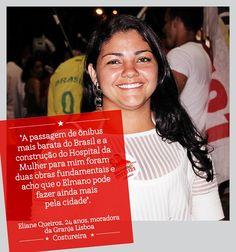 A Eliane Queiroz, da Granja Portugal, está com Elmano! #Elmano13doPT