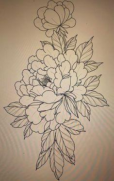 tattoos in japanese prints Japanese Tattoos For Men, Japanese Tattoo Art, Japanese Tattoo Designs, Flower Tattoo Designs, Japanese Flower Tattoos, Flor Oriental Tattoo, Peony Drawing, Flor Tattoo, Oriental Flowers