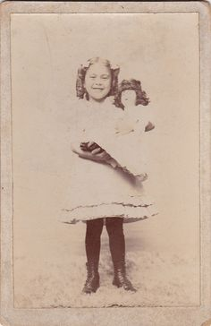 Early Shirley Temple Clone by Buttons McTavish, via Flickr
