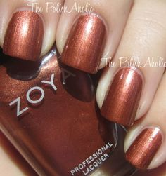 Jinx is a gorgeous shimmery copper brown