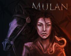 Mulan by ANeDe on DeviantArt