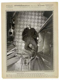 Alphonse Bertillon, 'Murder of Monsieur Canon, boulevard de Clichy, 9 December…