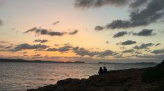 Precioso atardecer hoy en Sant Antoni.  La magia de Ibiza se convierte en sueños cumplidos en otoño. Celebrating life every day.  Ibiza sunset: Magic experience 365 days #autumndreams #Ibizavibes #autumnexperience #Eivissa #SantAntoni