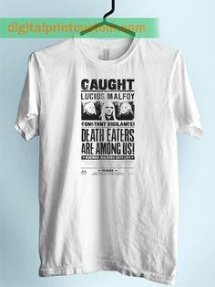 dd4d9c7efcc6 Harry Potter Lucius Malfoy Unisex Adult Tshirt