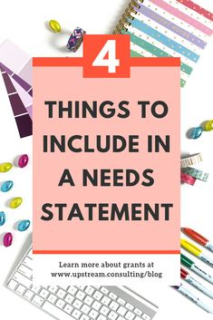 How to write a needs statement The needs statement of your grant proposal should compel someone to take action (i., give you grant money! Click through to learn more about the 4 things to include in your needs statement. Fundraising Activities, Nonprofit Fundraising, Fundraisers, Fundraising Letter, Fundraising Events, Grant Proposal Writing, Grant Writing, Grant Money, Pta School