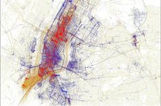 Density Design | Visualizing NYC a selection of case studies on georeferenced data on NY