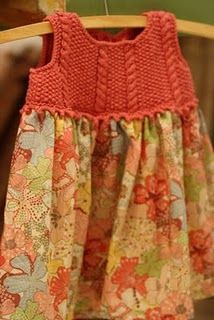 robe liberty....knit AND sew....what's not to like!!