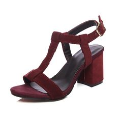 AIWEIYi Womens T Strap Chunky High Heel Sandals Strappy Platform Dress Sandal ** You can find out more details at the link of the image.