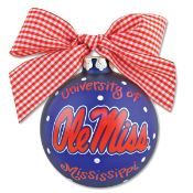 Cute Ole Miss ornament for your tree