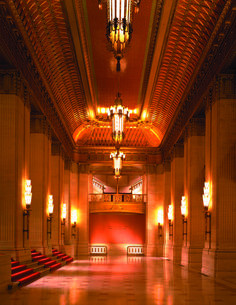 Lyric Opera of Chicago - Civic Opera House #OHC2013  See inside the dramatic Grand Foyer and elegant theater. http://www.openhousechicago.org/site/239/ Neighborhood: Downtown
