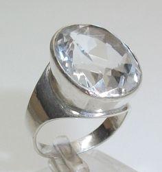 835er+Silberring+mit+klarem+Kristall+19,3+mm+SR345+von+Atelier+Regina++auf+DaWanda.com