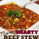Mom's Hearty Beef Stew