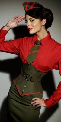Velda Lauder 'Warrior Woman' corset