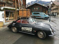 Vintage sportscar Gstaad
