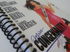 VHS Notebook 4.00 X 7.50 90 pages Miss Congeniality by LeeEmporium