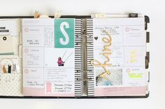 stephanie makes: Memory Planner: February & March
