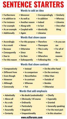 Essay Writing Skills, Book Writing Tips, Writing Words, Teaching Writing, Academic Writing, Dissertation Writing, Essay Prompts, Essay Writer, Teaching Grammar