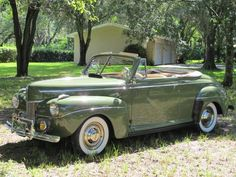 1941 Ford Super Deluxe Convertible Maintenance/restoration of old/vintage vehicles: the material for new cogs/casters/gears/pads could be cast polyamide which I (Cast polyamide) can produce. My contact: tatjana.alic14@gmail.com