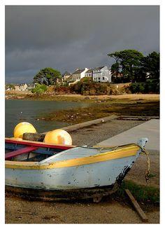 Sur les quais de Port-Navalo - Arzon, Bretagne