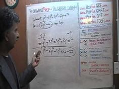 Algebra Help Day 44 - Prep Tutor via Skype - ACT, SAT, GRE, GMAT, TEAS, ...