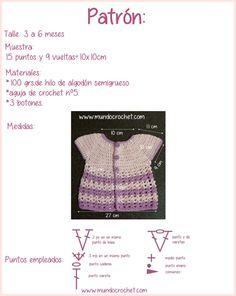 Round yoke baby crochet cardigan free pattern and tutorial Crochet Baby Cardigan Free Pattern, Crochet Girls Dress Pattern, Crochet For Boys, Crochet Cardigan, Crochet Patterns, Crochet Chain, Crochet Lace Edging, Single Crochet Stitch, Crochet Hooks