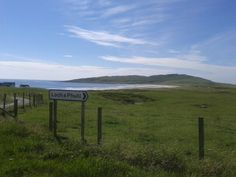 Looking West on Tiree