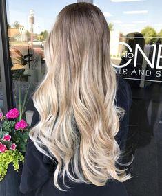 "766 Likes, 13 Comments - Tri Cities Blonde Specialist (@kathynunezhair) on Instagram: ""Low maintenance, gorgeous hand painted hair. You've gotta love balayage #kathynunez…"""