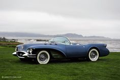 1954 Buick Wildcat-My dad had a '74, not nearly as cool as this though.