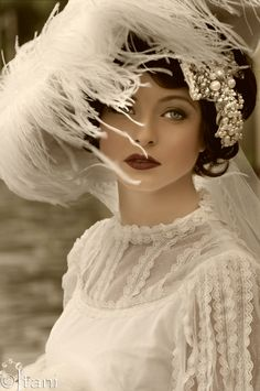 A vintage 1920's shoot. The Great Gatsby style