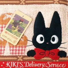 [Kiki's Delivery Service] a mini-towel dithe shelf (applique towel handkerchief)