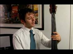 Playing Double Bass (Upright Bass) for Beginners : Learn a Blues Bass Li...