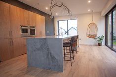 Concrete Fair - Polished Concrete - Residential and Commercial Polished Concrete Products Kitchen Worktop, Kitchen Island, Concrete Kitchen, Polished Concrete, New Homes, Islands, House, Google, Home Decor