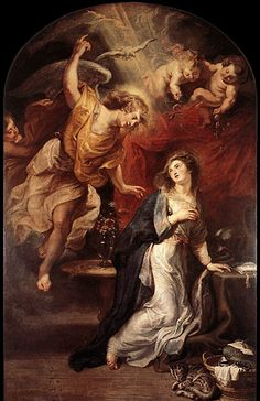 The Annunciation, by Peter Paul Rubens