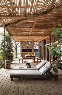 a stunning beach house in punta del este, uruguay | Danielle de Lange | Flickr Outdoor Areas, Outdoor Rooms, Outdoor Living, Outdoor Decor, Outdoor Office, Outdoor Seating, Gazebos, New York Loft, Shade Structure