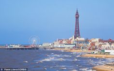 Blackpool, England.  Interesting spot to visit...the Pepsi Max roller coaster was the highlight!