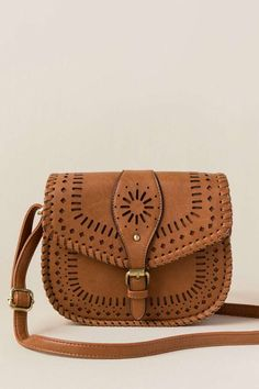 bd9c33960e52ab Hailee Perforated Whipstich Crossbody Saddle Bags, Saddles, Purses And Bags,  Cl, Molle