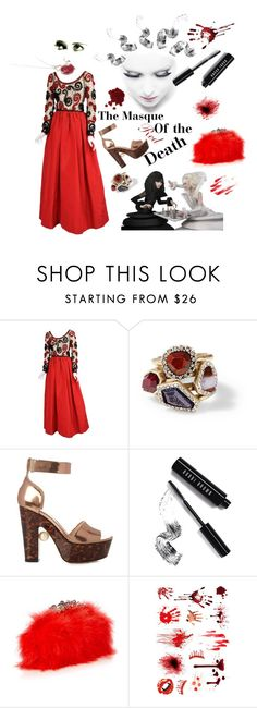 """""""Red"""" by wemakefashion ❤ liked on Polyvore featuring Givenchy, Chloe + Isabel, Nicholas Kirkwood, Bobbi Brown Cosmetics, Alexander McQueen and Sian Bostwick Jewellery"""