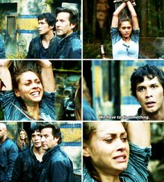 The 100 2x09 Remember Me Raven Reyes Bellamy Blake