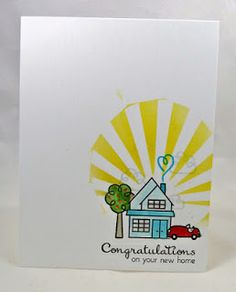 Congratulations #card by Joyce #PaperSmooches #BittyBungalows