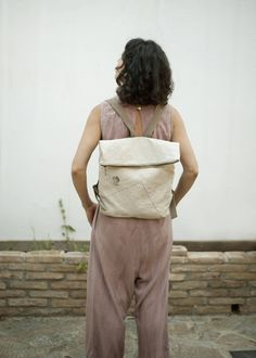 This item is unavailable Canvas Backpack, Laptop Backpack, Minimal Fashion, Minimalism, Backpacks, This Or That Questions, Medium, Zipper, Week End