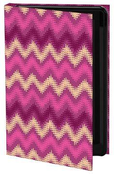 "Keka: Designer iPad Cases – ""Moroccan Heat - Zig Zag"" by Rebecca Stoner"