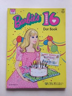 1974 Mod Barbie Sweet 16 Dot Book Unused Mint Condition | eBay