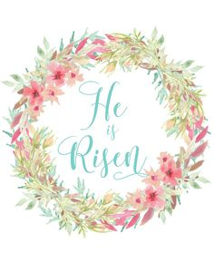 Mimi Lee Printables & More: He is Risen-