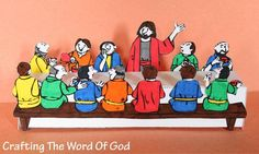 The Lords Supper  A cute way to remember the sacrifice of Christ on the cross and the significance of the Lords Supper.