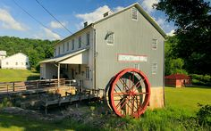 Stanton's Mill, built in 1797, served the Grantsville, Maryland, area until 1994. It has recently been restored to look much as it did in the 1850s. Pat & Chuck Blackley, country-magazine.com