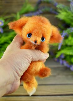 Crochet Bear Patterns, Little Fox, Amigurumi Toys, Dear Friend, Crochet Hooks, Art Projects, Handmade Items, Miniatures, Teddy Bear