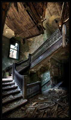 Imagine what it once was... via Urban Exploration